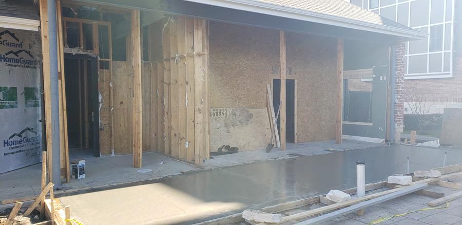 Southern Services LLC Concrete Pour